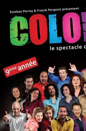 COLORS : LE SPECTACLE D'IMPROVISATION CULTE (Petit Gymnase)