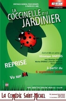 LA COCCINELLE ET LE JARDINIER