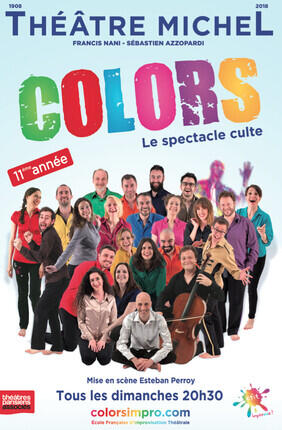 COLORS LE SPECTACLE CULTE