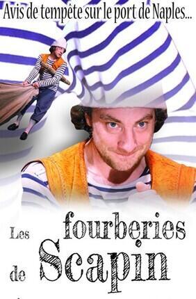 LES FOURBERIES DE SCAPIN Au Theatre Espace Marais