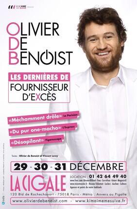 OLIVIER DE BENOIST - FOURNISSEUR D'EXCES
