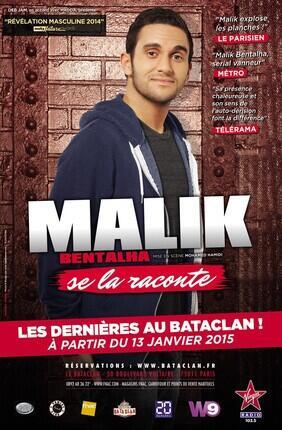 MALIK BENTALHA SE LA RACONTE (Bataclan)