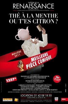 THE A LA MENTHE OU T'ES CITRON ? (Théâtre de la Renaissance)