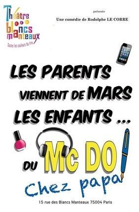 LES PARENTS VIENNENT DE MARS, LES ENFANTS DU MAC DO ! CHEZ PAPA