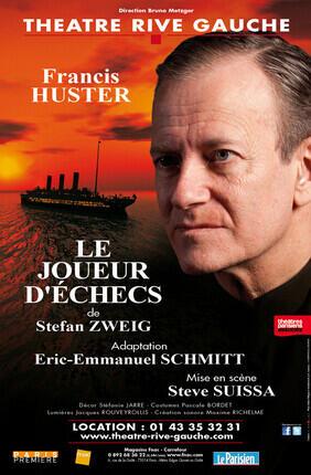 LE JOUEUR D'ECHECS (Théâtre Rive Gauche)
