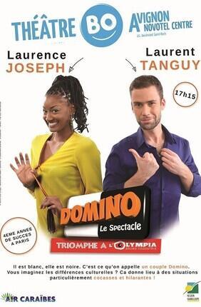 LAURENCE JOSEPH ET LAURENT TANGUY DANS « DOMINO » (Festival d'Avignon)