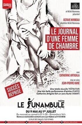JOURNAL D'UNE FEMME DE CHAMBRE (Funambule Montmartre)