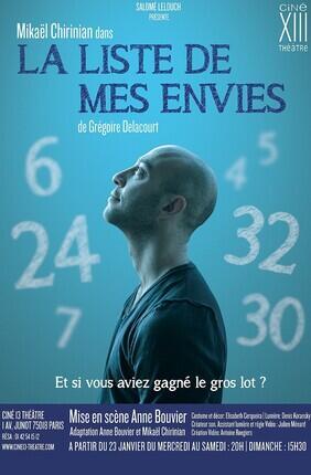 LA LISTE DE MES ENVIES (Ciné XIII)