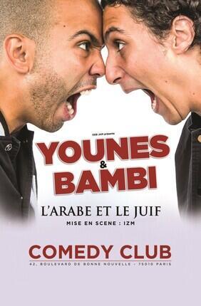 YOUNES ET BAMBI DANS L'ARABE ET LE JUIF
