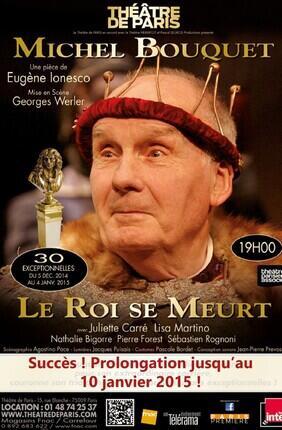 LE ROI SE MEURT (Théâtre de Paris)