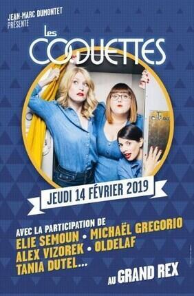 LES COQUETTES & CO FESTIVAL D'HUMOUR DE PARIS