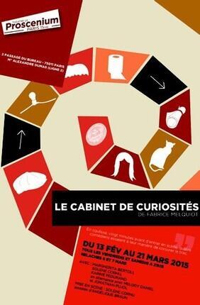 LE CABINET DE CURIOSITES (Le Proscenium)