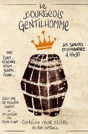 LE BOURGEOIS GENTILHOMME (Comédie Tour Eiffel)