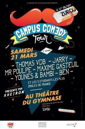 CAMPUS COMEDY TOUR PRÉSENTÉ PAR KHEIRON