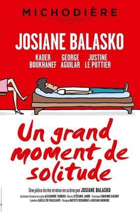 UN GRAND MOMENT DE SOLITUDE AVEC JOSIANE BALASKO