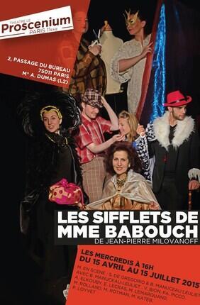 LES SIFFLETS DE MADAME BABOUCH