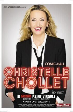 CHRISTELLE CHOLLET DANS COMIC-HALL