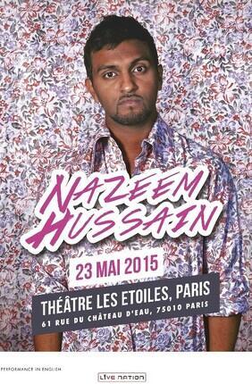 """NAZEEM HUSSAIN : """"LEGALLY BROWN"""" (Les Etoiles)"""