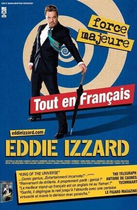 EDDIE IZZARD DANS FORCE MAJEURE