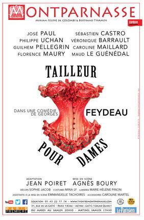 TAILLEUR POUR DAMES (Théâtre Montparnasse)