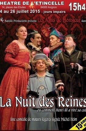 LA NUIT DES REINES (Théâtre de l'Etincelle)