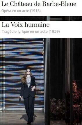 LE CHATEAU DE BARBE-BLEUE - LA VOIX HUMAINE