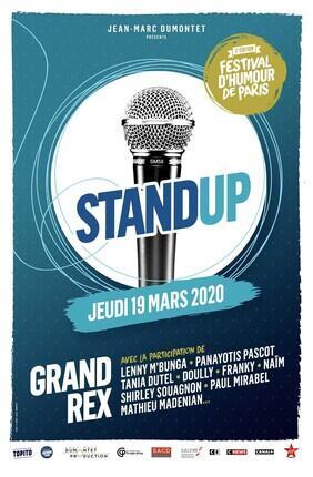 LA GRANDE SOIREE DU STAND-UP - FESTIVAL D'HUMOUR DE PARIS