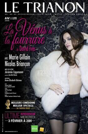 LA VENUS A LA FOURRURE AVEC MARIE GILLAIN ET NICOLAS BRIANCON