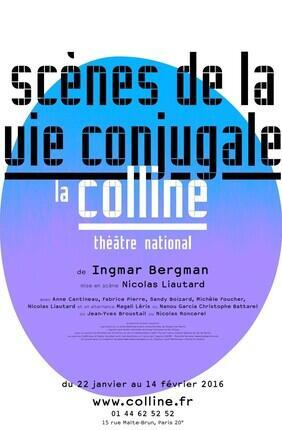 SCENES DE LA VIE CONJUGALE (Theatre National de la Colline)