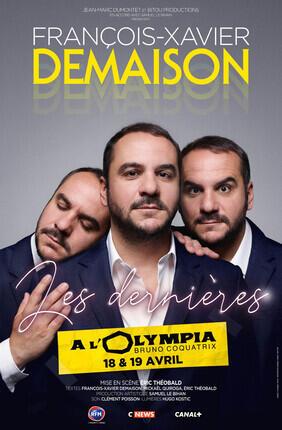 FRANÇOIS XAVIER DEMAISON LES DERNIERES