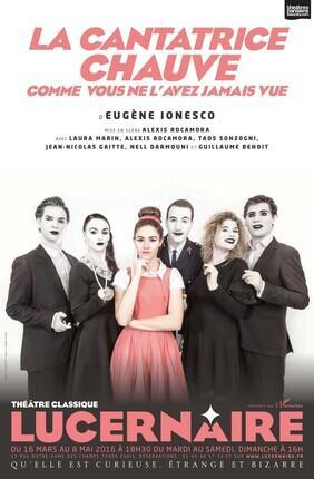 LA CANTATRICE CHAUVE (Theatre le Lucernaire)
