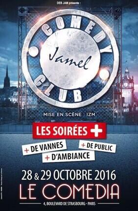 LA TROUPE DU JAMEL COMEDY CLUB  (Le Comedia)