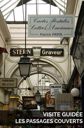 VISITE GUIDEE : LES PASSAGES COUVERTS AVEC MY URBAN EXPERIENCE