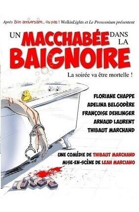 UN MACCHABEE DANS LA BAIGNOIRE (Comedie de Grenoble)