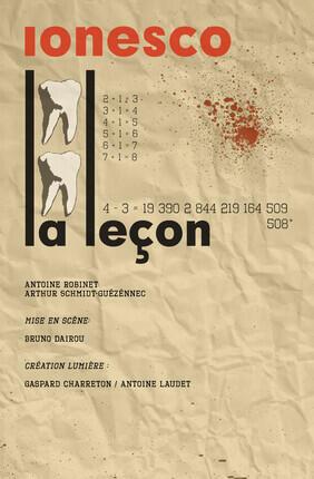 LA LECON (Theatre Le Vieux Balancier)