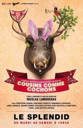 COUSINS COMME COCHONS (le Splendid)