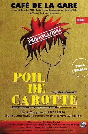 POIL DE CAROTTE (Cafe de la Gare)