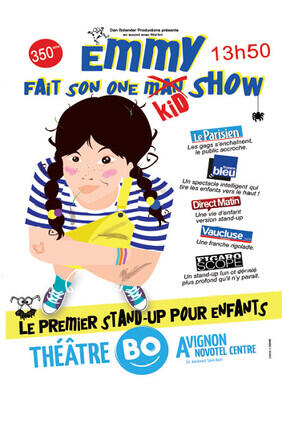 EMMY FAIT SON ONE KID SHOW (Theatre BO Avignon)