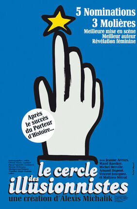 LE CERCLE DES ILLUSIONNISTES (Théâtre des Béliers Avignon)