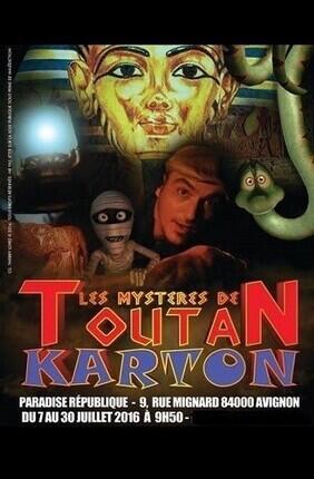 LES MYSTERES DE TOUTAN KARTON (Paradise Republique)