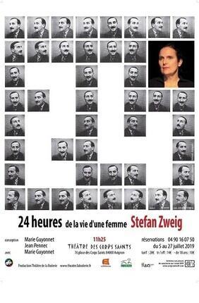 24 HEURES DE LA VIE D'UNE FEMME Au Theatre des Corps Saints