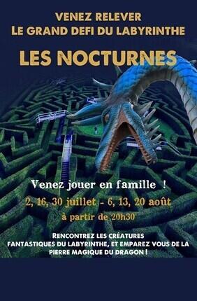 LE GRAND DEFI DU LABYRINTHE : LES NOCTURNES DU PARC DE THOIRY