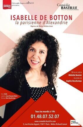 ISABELLE DE BOTTON DANS LA PARISIENNE D'ALEXANDRIE
