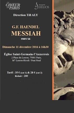HAENDEL : LE MESSIE (Saint Germain L'Auxerrois)