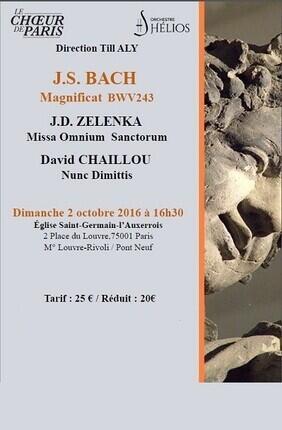 BACH – ZELENKA - CHAILLOU (Saint Germain l'Auxerrois)