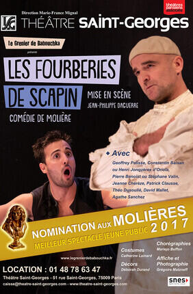 LES FOURBERIES DE SCAPIN (Theatre Saint Georges)