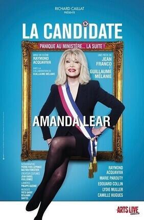 LA CANDIDATE AVEC AMANDA LEAR (Saint Etienne)