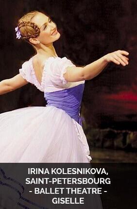 IRINA KOLESNIKOVA, SAINT-PETERSBOURG BALLET THEATRE - GISELLE