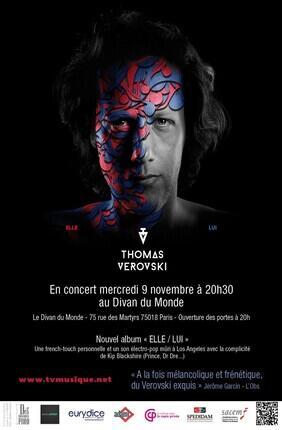 THOMAS VEROVSKI - ELLE/LUI (Le Divan du Monde)
