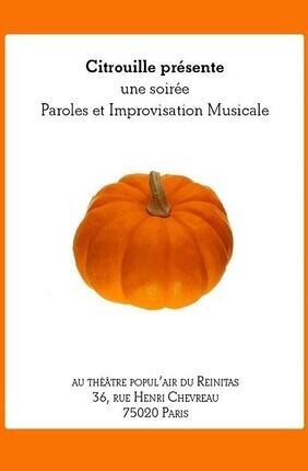 CITROUILLE (Theatre Popul'air)